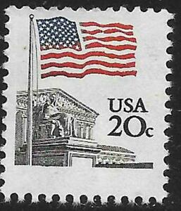 Scott 1894 US Stamp 1981 20c Flag Over Supreme Court MNH