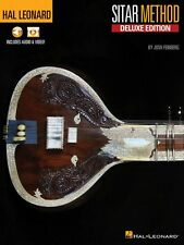 Hal Leonard Sitar Method Deluxe Edition Sitar Book with Online Media 000198245