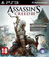 PS3 / Sony Playstation 3 - Assassin's Creed III [Standard] EU DE/EN mit OVP