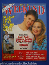 Weekend Magazine - The Colbys, Eastenders, Barbara Kellerman    11th Feb.1986