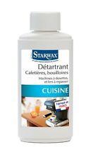 DETARTRANT CAFETIERE BOUILLOIRE MACHINE A DOSETTE FER A REPASSER STARWAX 259