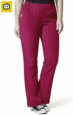 5205 WonderWink Plus Tummy Control Flare Leg Scrub Pant 5Xl Berry 100% Polyester