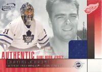 2002-03 Atomic Hockey JERSEY #8 Curtis Joseph Detroit Red Wings