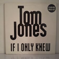 "Tom Jones ‎– If I Only Knew (Vinyl, 12"", Maxi 45 Tours, Promo)"