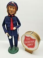 Byers Choice Carolers Salvation Army Man With Drum 1996
