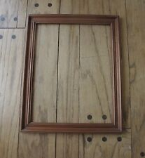 ANTIQUE 1930'S SOLID WOOD PICTURE FRAME   17 X 13 3/4 inches