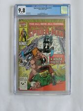 Spectacular Spider-Man #113 CGC 9.8 (1986) Early Black Suit
