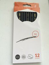 Charcoal Pencils 12 pk Ideal For Shading UnSharpened Break Resistant - Brand New
