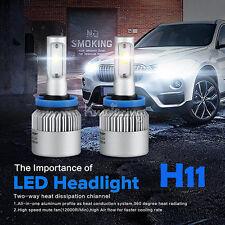 H11 KIT 2 LAMPADE LED COB FULL LED 8000 LUMEN 6500K DIGITALE 12V 24V FULL LED