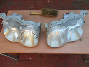 Hyundai Coupe Head Lights (pair) headlight 1999 - 2000 bug eyes RD2