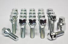 20 X M14 x 1,5, De 35 Mm Rosca, Ccorona/manillar de rueda de pernos y taquillas (Plata)