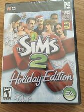 The Sims 2 Holiday Edition PC-CD-ROM XP ME 2000 or 98 EA New Sealed Bonus Stuff