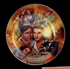 """1978 Golden Age of Cinema Collectors Plate - """"Judy and Mickey"""""""