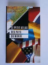 Livre Le petit Atlas des pays du monde  de Brian Williams 1997 état neuf