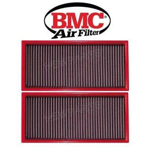 For Porsche Cayenne Pair Set of 2 Air Filters Standard Type BMC 95811013000
