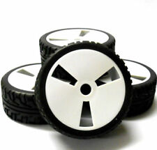 Roues, pneus, jantes et moyeux pour véhicule radiocommandé 1/8 ET