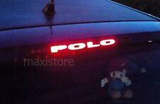 Adesivo Sticker Terzo Stop per Volkswagen VW Polo 6n2 - Personalizzalo con 2€!