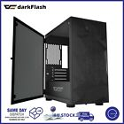 DarkFlash Gaming PC Case Tempered Glass Mesh Front Micro-ATX Computer Tower