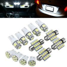 13PCS T10 Xenon White SMD LED Light Interior Package Kit For 2004-2012 Ford BMW