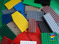 Lego 15 x Base Plates Boards Strips Bases in Mixed Colours Great for Sets