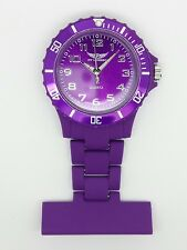 nurse beauticians fob watch purple Prince NY London F94