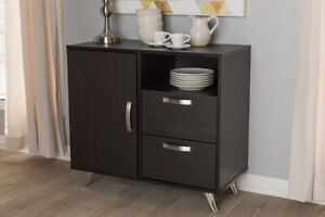 Baxton Studio Warwick Modern and Contemporary Espresso Brown Finished Wood Si...