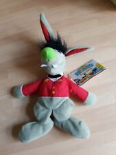 "Sesame Street Benny Rabbit Rare Jim Henson 1997 Beanie Toy 10"" TYCO"