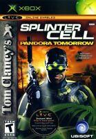 Tom Clancy's Splinter Cell: Pandora Tomorrow - Original Xbox Game - Game Only