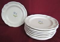 "Set of 8 PFALTZGRAFF Gazebo Garland 7.5"" Salad Plates, Dessert, Lunch LOT"