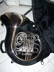 Silver Double French Horn - Unknown Brand