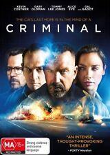 Criminal (Dvd) Action, Crime, Drama  Kevin Costner, Ryan Reynolds, Gary Oldman