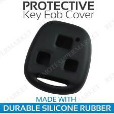 Remote Key Fob Cover Case Shell for 1999 2000 2001 2002 2003 Lexus RX300 Black