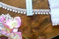 Guipure Flower Lace WHITE - 22mm wide 3 Metre Lengths - L2912 Green Tara LLD1