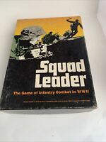 Squad Leader Avalon Hill 1977 For Parts