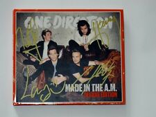 One Direction 1D autographed 2016 Made In The A.M  album American Deluxe edition
