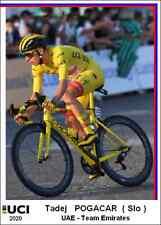 Tadej  Pogacar  2020 Cycling Ciclismo Cyclisme Format Carte Postal