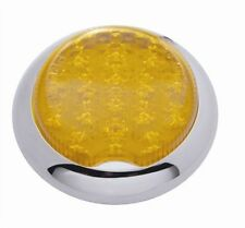 "Pro-One 402020 Amber 3"" Flush Mount Round Dual Function LED Tail Light"