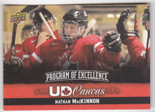 13-14 Upper Deck Nathan MacKinnon UD Canvas Program Of Excellence 2013