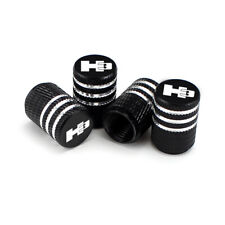 Hummer H3 Laser Engraved Tire Valve Stem Caps - Extra Spare Cap Total 5 Caps
