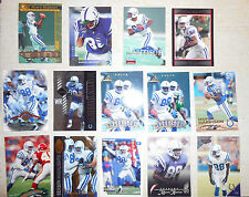 Lot of 14 Marvin Harrison Indianapolis Football Trading Cards