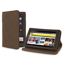 Cover-Up Kobo Arc 7-inch eReader Version Stand Natural Hemp Case - Cocoa Brown