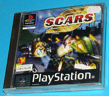Scars - Sony Playstation - PS1 PSX - PAL