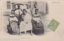 * MARTINIQUE - Fort de France - Famille Béhanzin 1907