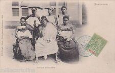 * MARTINIQUE - Fort de France - Famille Béhanzin 1907