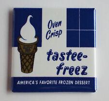 Tastee-Freeze Gelato Calamita Frigo (7.6x7.6cm) Firmare
