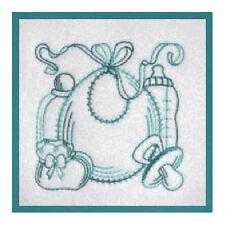 1102:  Machine Embroidery Designs - Baby Blocks - Redwork