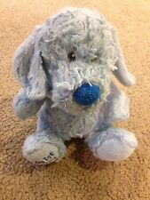 """Baby Blue The Petting Zoo Teddy Bear """"My 1st Puppy"""" Paw Baby Lovey"""