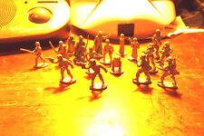 Star Wars Silver Die Cast 17 Metal Figure Figures 1998 Rare VHTF Nice Details!