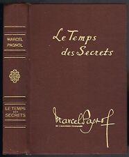 Le TEMPS des SECRETS de Marcel PAGNOL illustré par DUBOUT Édit. PASTORELLY 1973