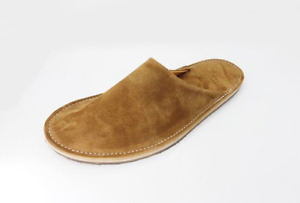 Viberg slide slippers snuff suede near new. Retail price $160 USD